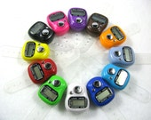 Digital Row Counter for Knitting and Crocheting - 12 Colors Available - Item 1000