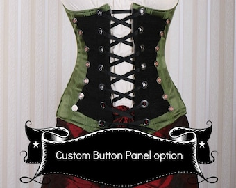 Button Panel Added to Your Custom Order