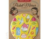 Pocket Mirror 3.5 inch - Stuff No. 1