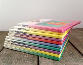 Lot Of 10 Vintage Teddy Ruxpin Books