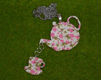 Vintage (pink) Teatime Necklace