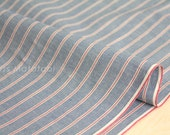 Japanese Fabric - yarn dyed selvedge cotton chambray - B - 50cm