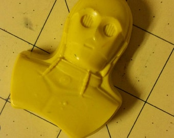 Star Wars C3PO Crayons Recycled/Upcycled