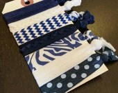 Utah State Aggies / BYU Cougars / Kean University Cougars /Oakland City Mighty Oaks / Creighton Bluejays Hair Ties ... 7ct.