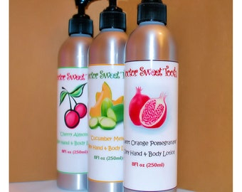 Silky Body Lotion (Paraben Free) (Pick Any Scent) 8oz