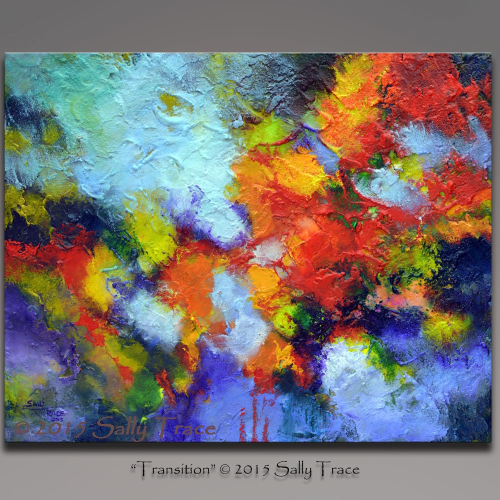 abstract painting acrylic painting textured impasto