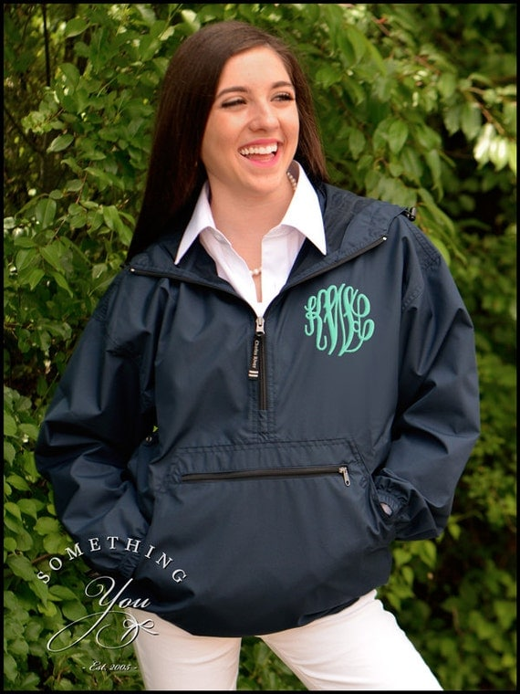 Monogram Windbreaker Jacket - JacketIn