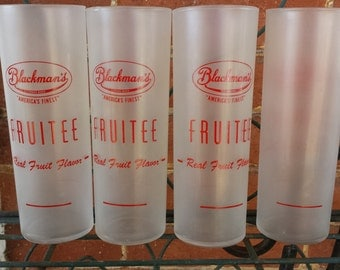 BLACKMAN'S FRUTEE GLASSES Frosted