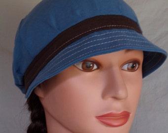 True Blue Flapper Hat