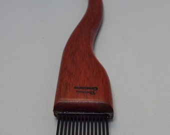 weaving beater or fork- Bloodwood-fine