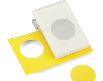 EK Success Large Circle Paper Punch. 2 in Diameter.