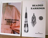 2 Beading Books Therese Spears 'Beaded Clothing Techniques' & 'Beaded Earrings'