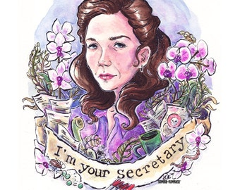 I'm Your Secretary - Lee Holloway Print Poster Print 11x14
