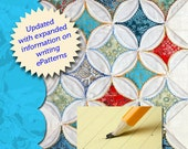 Updated - How To Write Quilt Patterns eBook Instand Download #0512