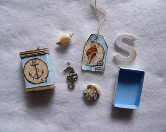 "The ""Sea"" Matchbox with Goodies"