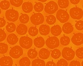 Witches Brew Haha on Orange from Quilting Treasures, Orange Pumpkinds, yard