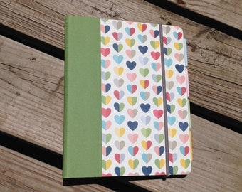 NEW LAYOUT!  Hearts Everyday Horizontal Planner - Any Start Month - Ready To Ship!