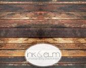 "Vinyl Backdrop 3ft x 2ft, Vinyl Wood Photography Backdrop or Floordrop, Dark vintage wood drop, background prop, ""Jack Attack Planks"""