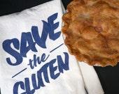 Save the Gluten tea towel