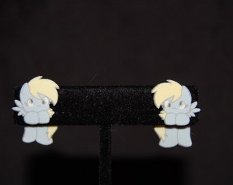 My Little Pony Derpy/Ditzy/Muffin Hanging Earrings
