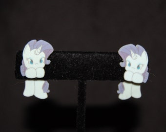 My Little Pony Rarity Hanging Earrings