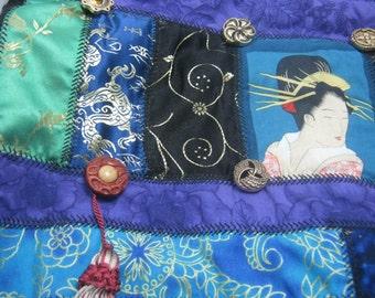 Gypsy Patchwork-Geisha Patchwork Embroidered Bag