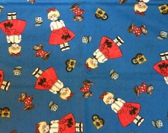 Three Yards Mary Engelbreit Fabric Scotty Dog Cotton