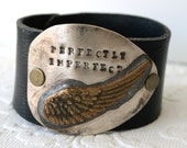 Perfectly Imperfect Mixed Metal Spoon Cuff