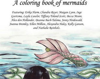 Fishpond Fantasies: Detailed Coloring Book for So-Called Grownups - Mermaids and Fantasy Fish