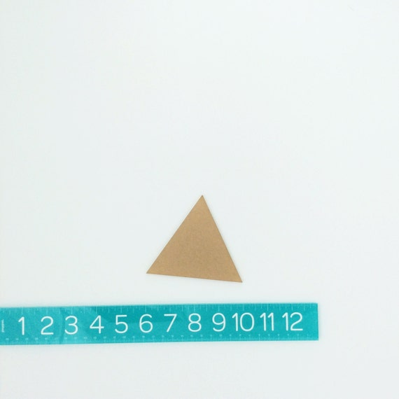 "triangles PAIR (4"")"