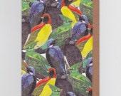 Bird Birds Birds | Greetings Card with Tropical Birds