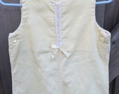 70s Cord Overalls 12-18 Months