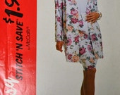 Sewing Pattern Stitch N Save 6361 Misses' Jacket Top and Skirt Bust 30-36 inches   Complete Uncut