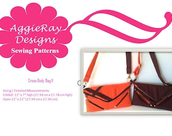 INSTANT DOWNLOAD PDF Sewing Pattern Fold Over Clutch 2 -- Create and Sell Product