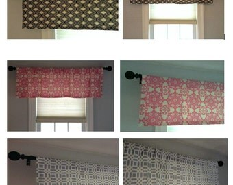 Designer Window Treatments Valance Curtain Kitchen Bedroom Bathroom