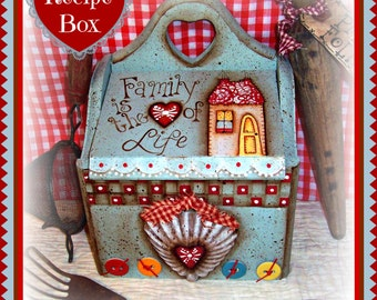 Apple Tree Cottage Original Design E Pattern - Family is the Heart of Life