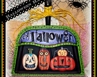 Apple Tree Cottage Original Design E Pattern - Halloween Hanger