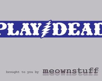 Grateful Dead Sticker 13 Point Bolt Vinyl Decal  Vehicles Graphics