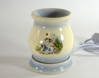 Electric Tart Burner Oil Warmer Baby Bunnies