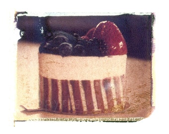 Polaroid transfer - Dessert