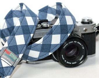 Plaid Camera Strap - Tartan Neck Strap - Country Charm