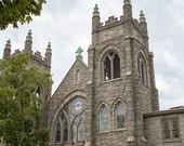 Church Photograph, Architecture Photography, Historic Richmond Print, Beige, Monument Avenue Art, Richmond Photo, RVA - Faith