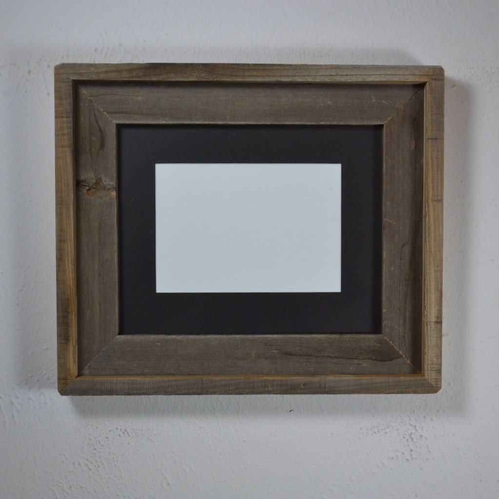 8x10 Wood Picture Frame With 5x7 Or 6x8 Mat Ready To By