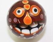"MIni Tiki Monster marble   1 3/8""  Brad Pearson SRA"