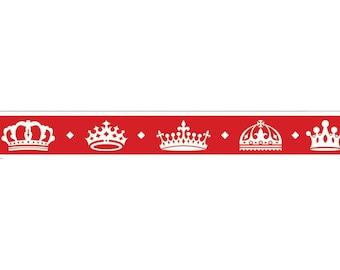 Crown Tape • Royal Crown Tape • Royal Crown Decorative Tape • Crown Masking Tape (SC9570)