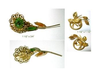 Vintage Flower Pins VJE-FP