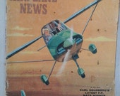 Model Airplane News, May 1961 Scale Plans to build airplanes & gliders, Navy Tigercat, Radio Control models aircraft Retro 1960's Flying