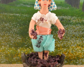 Lucille Ball Doll Miniature Lucy Stomps Grapes Fan Art