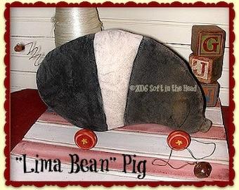 Lima Bean Pig E-Pattern