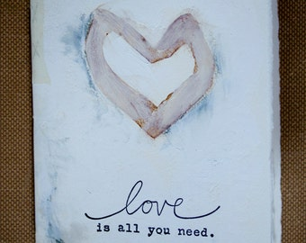 Blank Handmade journal....love 2